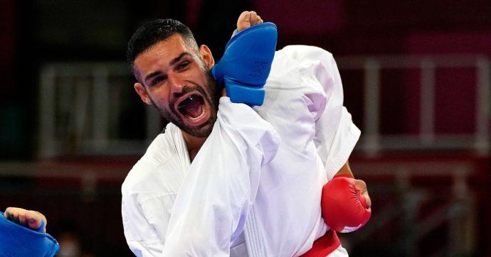 """Luigi Busà è medaglia d'oro nel kumitè. La dedica: """"Non solo per me, ma per tutto il karate italiano"""""""