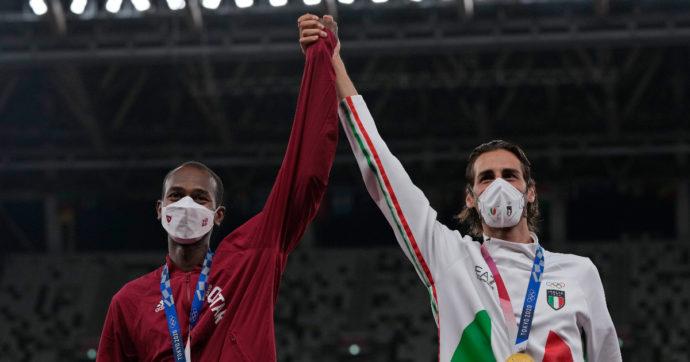 Olimpiadi Tokyo, il momento migliore? Il doppio oro Tamberi-Barshim. Altro che spareggio