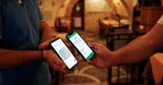 """Green pass, il Garante privacy: """"Titolari di bar e ristoranti possono chiedere il documento d'identità per verificare l'appartenenza"""""""