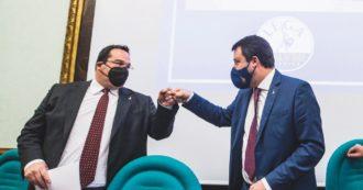 """Salvini dopo una settimana parla di Durigon e nega la realtà: """"Non ha chiesto di cambiare il nome del parco, nella Lega nessun nostalgico"""""""