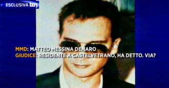 Matteo Messina Denaro, la voce del boss trasmessa per la prima volta dal Tg1: era in un audio del 1993 custodito al tribunale di Marsala