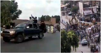 Afghanistan, i talebani conquistano Jalalabad e pubblicano i video dell'ingresso in città: