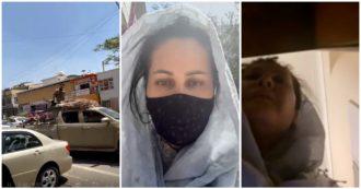 Afghanistan, la regista Sahraa Karimi in fuga dopo l'arrivo dei talebani a Kabul in un contesto di traffico logoro e banche evacuate: