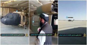 Afghanistan, i talebani rivendicano il sequestro di aerei militari effettuato negli Stati Uniti: il video