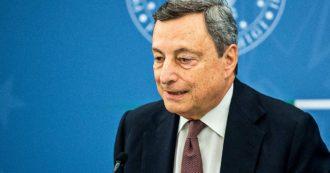 """""""Accelerare decarbonizzazione e riduzione delle emissioni"""". Sulla transizione Draghi dà la linea: """"Lo Stato è pronto ad aiutare le imprese"""""""