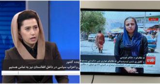 Afghanistan, le giornaliste tornano a condurre sulla tv Tolo News dopo la presa dei talebani