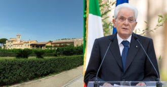 """Castelporziano, attentato incendiario alla casa estiva del capo dello Stato. Mattarella: """"Grazie ai cittadini che hanno segnalato le fiamme"""""""