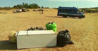 Rave party di Mezzano, qualche camper e molti rifiuti: ecco cosa rimane nel parco dopo sei giorni di festa