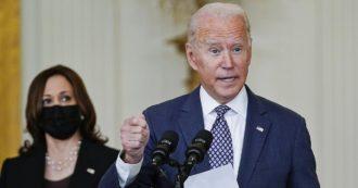 """Afghanistan, Biden all'angolo prova a difendersi: """"Via dopo esserci sbarazzati di Al Qaeda"""". Ma il Pentagono: """"I terroristi ci sono ancora"""""""