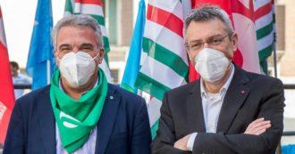 """Green pass, Landini conferma la linea: """"Non deve discriminare"""". Ma Sbarra (Cisl) rompe gli indugi: """"Prevedere obbligo di vaccinazione"""""""