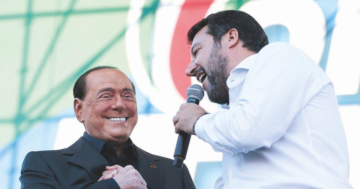 """""""Prima l'Italia"""": Salvini propone a B. il """"partitone"""""""