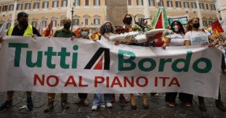Alitalia stop alla vendita dei biglietti dalla mezzanotte, la palla passa a Ita. Intanto restano a casa tre dipendenti su cinque