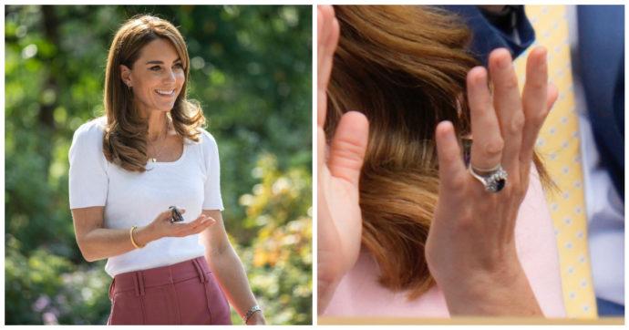 """Kate Middleton fa modificare il prezioso anello di Lady Diana: """"Il peggior incubo da evitare"""""""