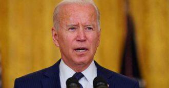 """Attentati a Kabul, Biden parla alla nazione: """"Attacco dell'Isis-K. Vi daremo la caccia, la pagherete"""". Dei Talebani dice: """"Collaborano, non hanno interesse a ostacolarci"""". E conferma il ritiro entro il 31 agosto"""
