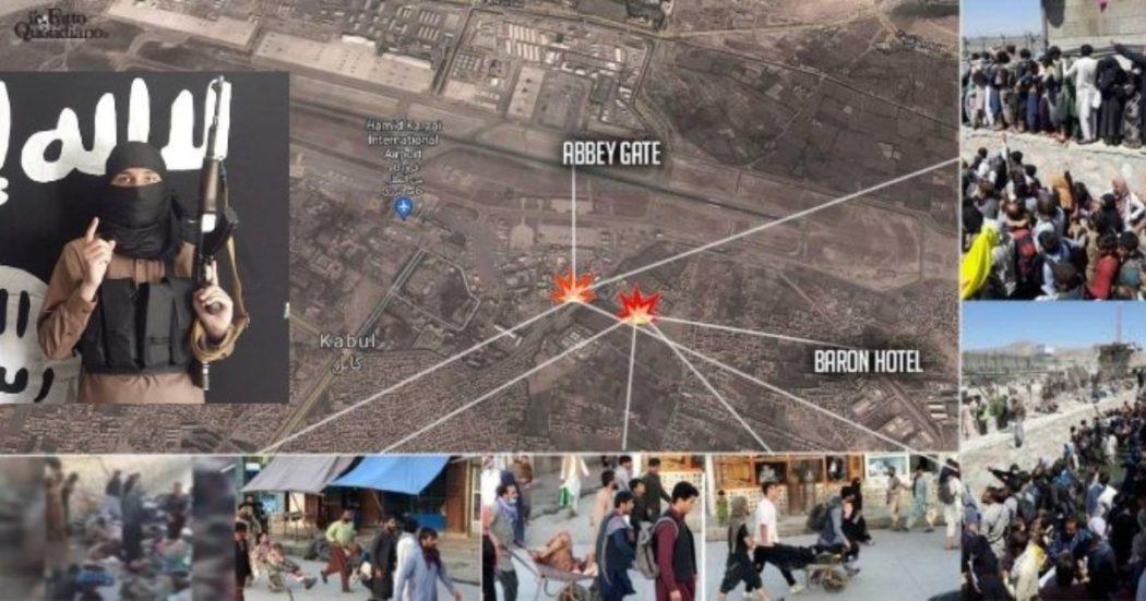 """Afghanistan, doppio attentato all'aeroporto di Kabul: """"90 morti, almeno 150 feriti"""". L'Isis rivendica e i Talebani condannano: """"Raccapricciante"""". Usa: """"Ci aspettiamo altri attacchi"""""""