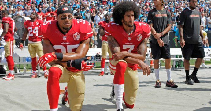Colin Kaepernick e il suo inginocchiamento durante l'inno: così 5 anni fa il giocatore di football aprì la strada alla protesta nello sport