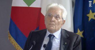 """Afghanistan, il presidente Mattarella parla a Ventotene: """"Sconcertante il no all'accoglienza di alcuni politici"""""""