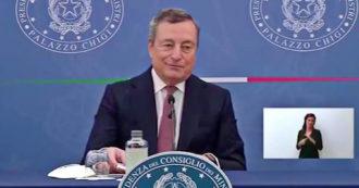 """Draghi: """"Se penso al Quirinale come altra possibilità? Offensivo pensarci, anche nei confronti di Mattarella"""""""