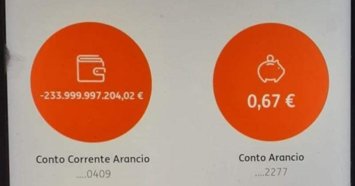 """Errore tecnico di Ing Italia, ai clienti del """"conto arancio"""" addebitati fino a 290miliardi di euro a testa. """"Ci scusiamo per il disagio"""""""