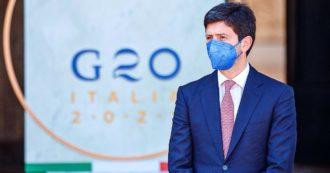 """Terza dose, Speranza: """"Partiremo con i fragili già da settembre. Dal G20 impegno a portare il vaccino nel mondo, c'è rischio varianti"""""""