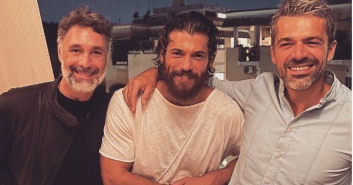 Luca Argentero, Can Yaman e Raoul Bova a cena insieme: ecco cosa c'è sotto