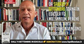"""""""La stampa è libera, i giornalisti no"""", Peter Gomez presenta Fq Millennium: """"Perché in Italia tante notizie non vengono pubblicate?"""""""