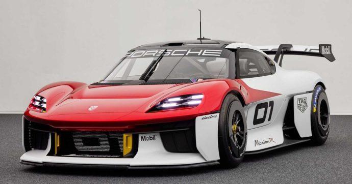 Porsche Mission R concept, la race-car si fa elettrica – FOTO