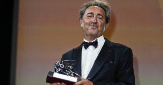 Festival di Venezia 2021, le inaspettate lacrime del regista Paolo Sorrentino (che non pianse per il premio Oscar)