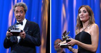 Festival di Venezia 2021, i vincitori: il Leone d'oro al film francese sull'aborto. Premiati i registi italiani Sorrentino e Frammartino