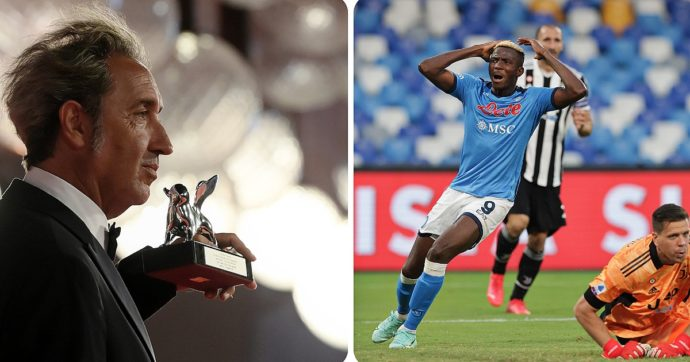 Festival di Venezia 2021, mentre Sorrentino riceveva il Leone d'argento allo stadio Maradona il Napoli batteva la Juve. È stata la mano di Dio?