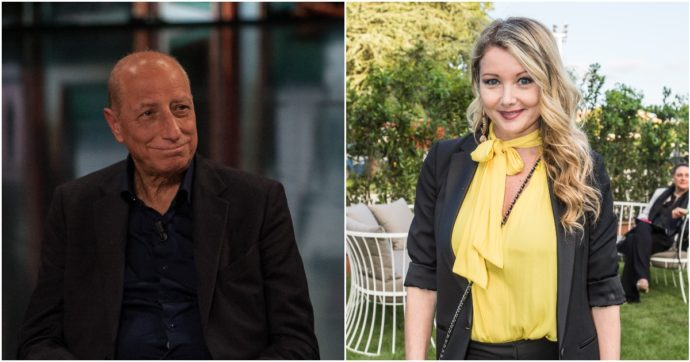 Pippo Franco e Angela Melillo, dal Bagaglino allo scontro per le amministrative a Roma: lei sostiene Gualtieri, lui Michetti