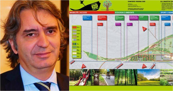 """Verona, il progetto del maxi parco all'ex Scalo ferroviario è scomparso dall'agenda Sboarina. Gli attivisti: """"Il sindaco ci ha presi in giro"""""""