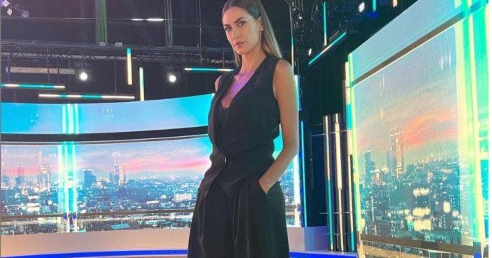 """Melissa Satta dopo il debutto a Sky Calcio Club:  """"Grazie per la pazienza e l'aiuto: sono un po' come la Juve, ancora in rodaggio"""""""
