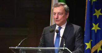 """Draghi: """"Vogliamo accelerare l'impegno di decarbonizzazione, ridurre le emissioni e puntare sull'idrogeno"""" – Video"""