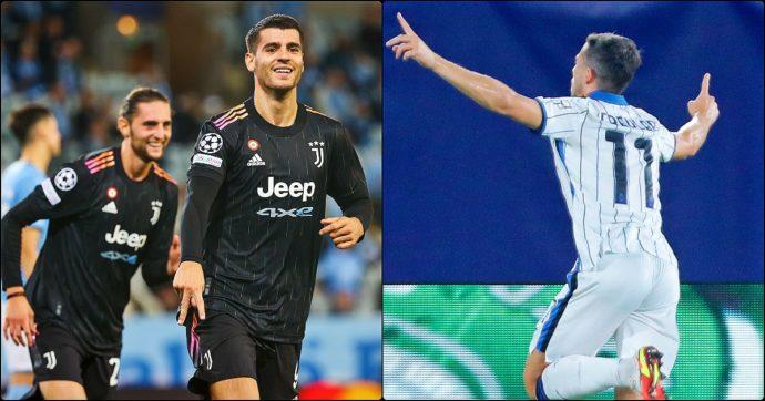 Juventus e Atalanta, la Champions vi fa belle: i bianconeri dominano a Malmoe, finisce 0-3. Prezioso pari dei nerazzurri a Villareal: 2-2