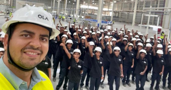 E-scooter, Ola Electric Mobility sceglie solo lavoratrici per il suo stabilimento in India