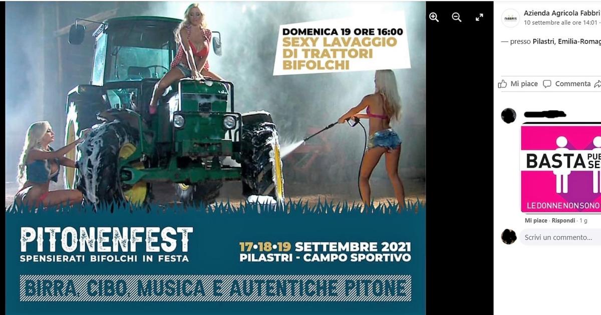 """Il """"sexy lavaggio dei trattori bifolchi"""": la festa """"gutturale"""" che imbarazza il sindaco di Ferrara"""