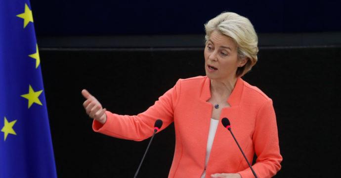 """Von der Leyen: """"Verso politica migratoria e di difesa comune. Serve un'intelligence europea"""". Il fronte con Mattarella, Draghi e Borrell"""