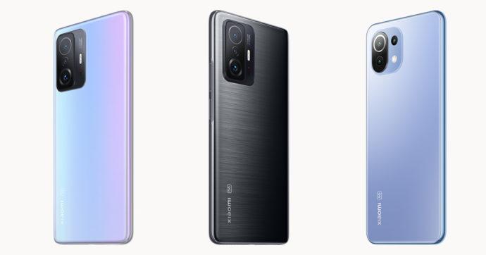 Xiaomi amplia la serie 11 con 3 nuovi smartphone di fascia alta e medio alta. Ecco le offerte lancio
