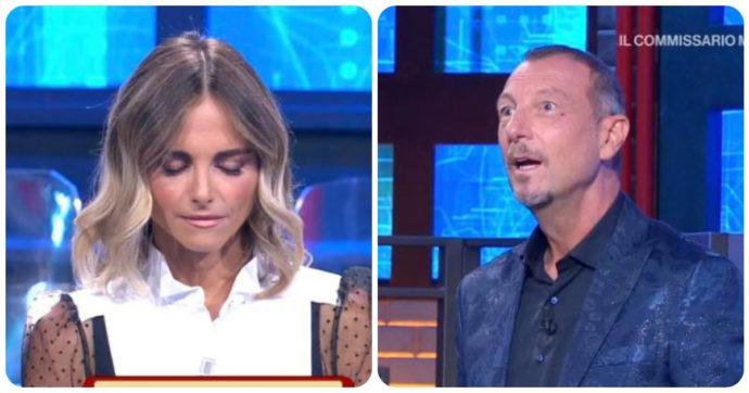 """I Soliti Ignoti, Francesca Fialdini: """"Non fatemi vedere le orecchie"""". E Amadeus reagisce così"""