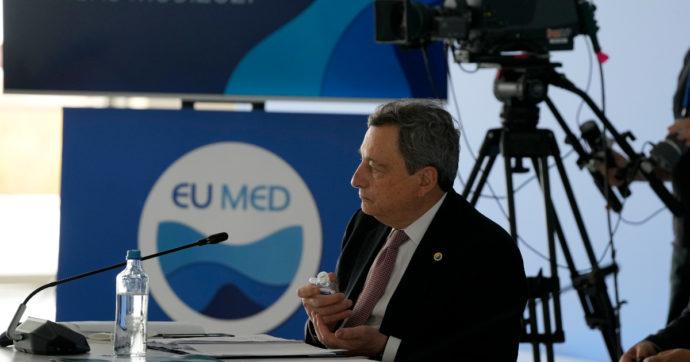 """Clima, Draghi: """"Non c'è più tempo, serve una transizione radicale per evitare la catastrofe. Ma proteggendo i più deboli dai costi sociali"""""""