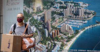 """Evergrande, azioni sospese in Borsa in attesa di annunci. Media cinesi: """"Venderà il 51% della gestione immobiliare per raccogliere 5 miliardi"""""""