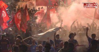 """Firenze, le voci dei lavoratori Gkn, ex Embraco e Whirlpool: """"Su delocalizzazioni e sfruttamento nessuna risposta. Governo Draghi complice"""""""