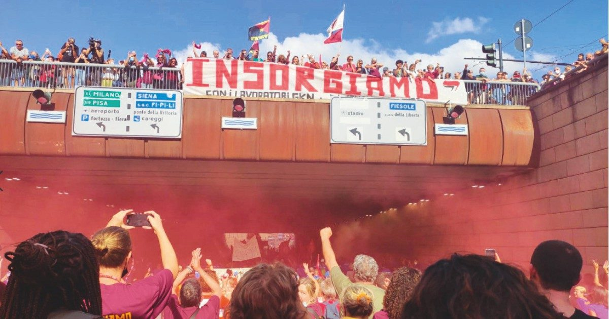 Gkn, 15 mila in corteo a Firenze contro i licenziamenti selvaggi
