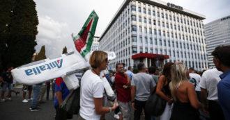 """Alitalia, rottura nelle trattative tra Ita e sindacati. Confermato lo sciopero del 24 settembre. Cgil: """"Emergenza sociale"""""""