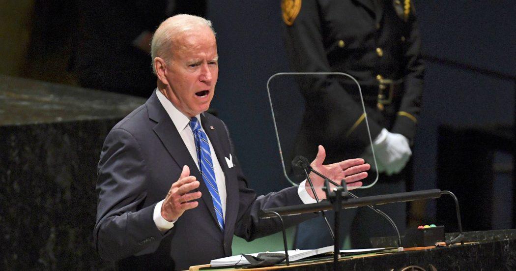 """Onu, Biden invoca la diplomazia dopo lo scontro sull'accordo Aukus: """"Cooperiamo anche sulla pandemia"""". E sulla Cina: """"Non vogliamo una nuova Guerra Fredda"""""""