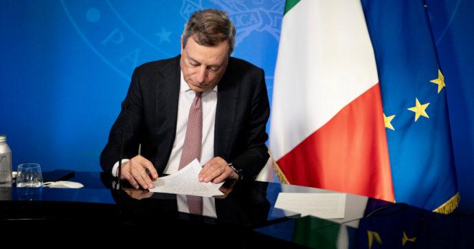 """Draghi scrive a uno studente: """"Reddito di cittadinanza ispirato a valori costituzionali come l'eguaglianza. Limiti su politiche attive"""""""