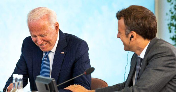 """Aukus, disgelo tra Usa e Francia: """"Dovevamo consultarci prima dell'accordo"""". Ma Johnson attacca Macron: """"Dateci un taglio"""""""
