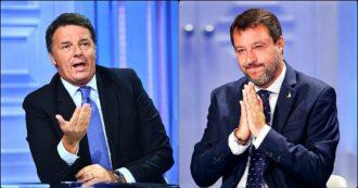"""Reddito, la giravolta di Salvini: non è più da """"abolire"""", anzi darlo ad alcuni """"è sacrosanto"""". E la raccolta firme di Renzi? Non è mai partita"""