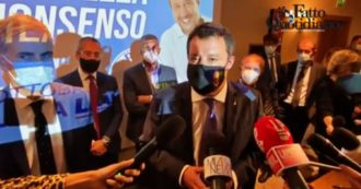"""Salvini risponde a Fedriga: """"Nella Lega non c'è posto per i no vax? Ogni idea è rispettata e rispettabile. Siamo un movimento democratico"""""""